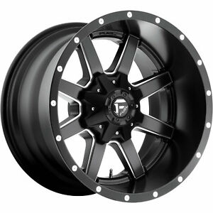 20x12 Black Fuel Maverick 6x135 6x5 5 44 Rims Open Country Mt 35 Tires