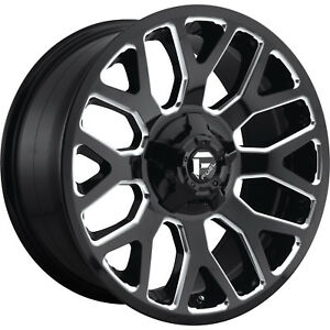 20x10 Black Milled Warrior 6x135 6x5 5 18 Wheels Open Country Mt 35 Tires