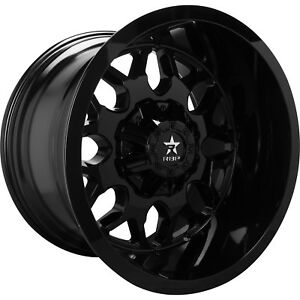 20x10 Black Rbp 73r 6x135 6x5 5 25 Rims Open Country Mt 35 Tires