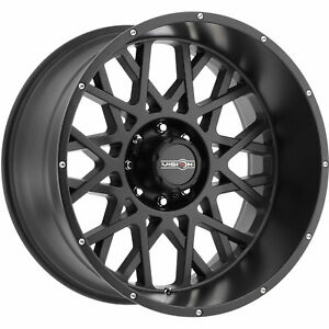 20x9 Black Vision Rocker 412 6x5 5 10 Wheels Open Country Mt 35x12 5x20 Tires