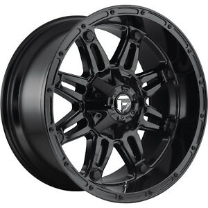 20x9 Gloss Black Hostage 6x135 6x5 5 20 Wheels Open Country Mt 35 Tires