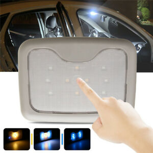Universal Car Interior Led Roof Light Wireless Ceiling Dome Reading Lamp Beige