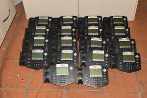 Polycom Soundpoint Ip 650 Ip650 Lot Of 18 Voip Telephones W 18 Handsets 7