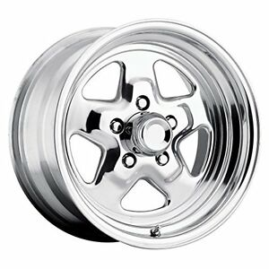 Ultra Octane 15 Polished Wheel Rim 5x4 75 With A 19mm Offset And A 83 Hub Bo