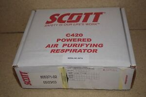 Scott C420 Powered Air Purifyiing Respirator Papr New Never Used