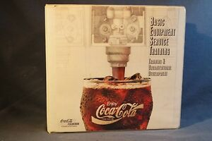 Cocacola Soda Fountain Drink Machine Self Study Book Mix Carbination Maintenance