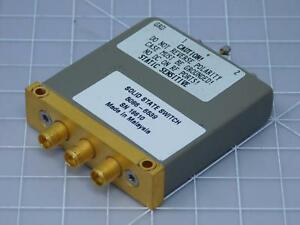 Hp 5086 6539 Agilent Keysight Rf Coaxial Solid State Switch T124851