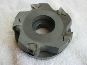 Kennametal 4 Indexable Face Mill Khvr 4 se4 15c 10500 R p m W Inserts