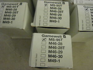 New Gamewell Ms 95 T Version w terminals Pull Station 4 Avail New In Box