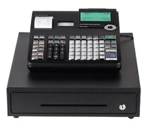 Casio Pcrt2300 Thermal Print Cash Register 7 000 Lookups