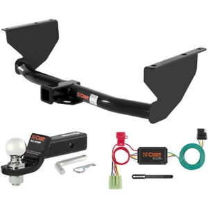 Curt Class 3 Hitch Tow Package W 2 5 16 Ball For 1999 2004 Jeep Grand Cherokee