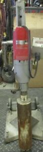 Milwuaukee Dymodrill Core Drill 4096 With Dymo Rig 4120 And Meter Box 48 51 0120