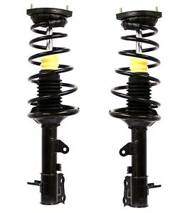 Pair Set Of 2 Rear Monroe Strut And Coil Spring Kit For Hyundai Elantra 00 06