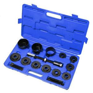 19pc Front Wheel Drive Bearing Puller Remove Adapter Master Set W case Us Store
