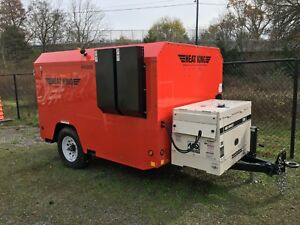 Heat King Hk500 With 7 0kw Multi Quip Generator 4 Hours Located In Nj