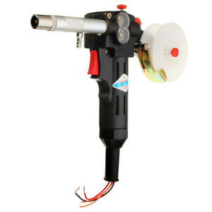 Toothed Mig Spool Gun Wire Feed Aluminum Steel Welding Torch Without Cable Usa