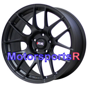Xxr 530 Wheels S Flat Black 18x8 75 20 Rims 5x114 3 Mitsubishi Evolution Gsr Mr