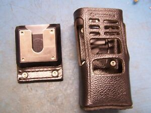 Oem Motorola Hln9998a Leather Case With Swivel Ht1250 New