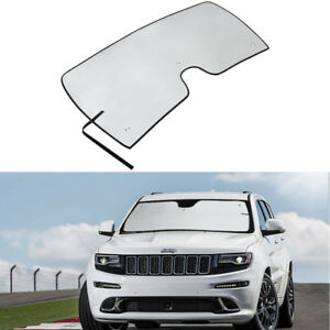 Windshield Sun Shade Visor Protector Cover For Jeep Grand Cherokee Suv 2011 2018