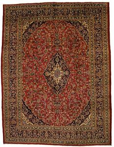 Handmade Traditional Antique Vintage Persian Area Rug Oriental Carpet 10x13 Sale