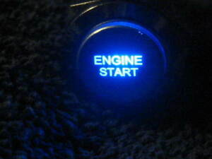 Blue Led Engine Start 19mm Momentary Metal Switch Push Button Lighted New 12v