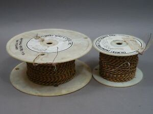 Lot Of 2 Spools 500 Feet 30 6 Hook Up Wire Universal