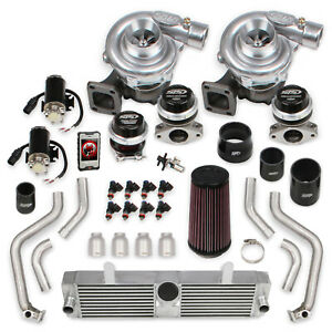 Sts Turbo Sts2008t Sts Turbo Remote Mount Twin Turbo System W Tuner