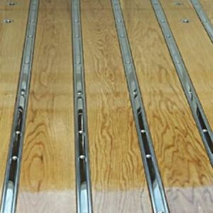 Bed Strips Ford 1928 1931 Polished Stainless Model A Truck Wood