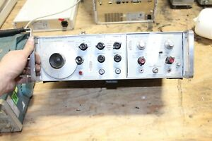 Hewlett Packard Hp 3300a Function Generator 3304a Sweep offset Plug in