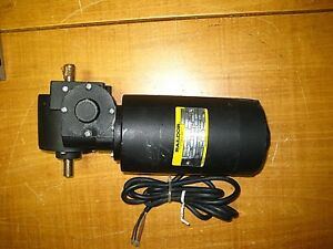 Baldor 100v Dc Right Angle Gear Motor Gearmotor 225 1 20 Rpm 150 In lbs Nos