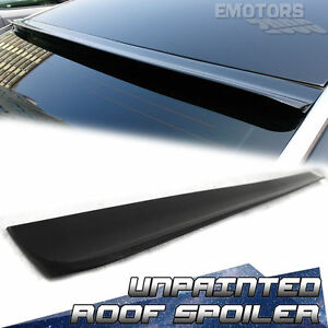New Unpainted For Honda Accord 9 Roof Sport Spoiler Wing Ex l 4dr 2013