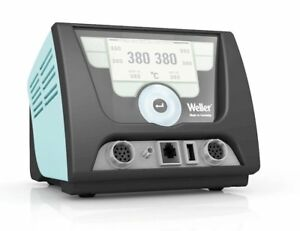 Weller Wxd2n Two Channel Soldering Desoldering Station without Handpieces