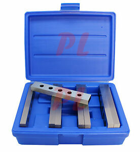 4 Pair 1 2 X 6 Steel Parallel Set Hardened Square Precision Gauge 8 Pcs