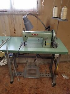 Rex 26 188 Industrial Commercial Sewing Machine W Table Clutch Motor