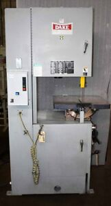 19 Dake Parma Trademaster Vertical Band Saw New 2012 Excellent Condition