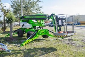 Nifty Sd64 70 Ft Boom Lift 4wd Weighs 8700 Lbs 2018s we Can By Year End Save