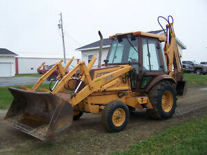 1991 Case 580k Backhoe