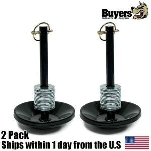 2pk Drive Pro Snow Plow Shoe Assembly For Meyer Tm Stl Snow Plows Buyers 1303002