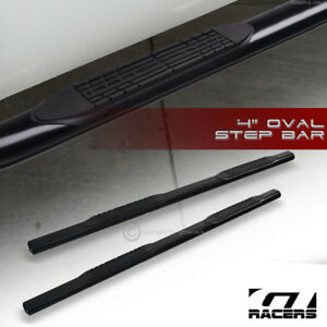 For 2010 2013 Dodge Ram 2500 3500 Crew Cab 4 Black Side Step Bars Running Board