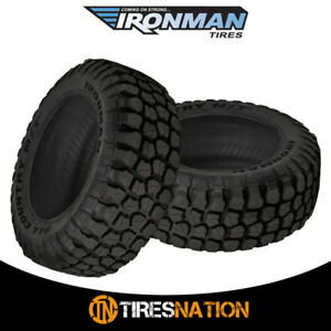 2 New Ironman All Country M T 33x12 50r15 6 108q Owl All Terrain Mud Tires