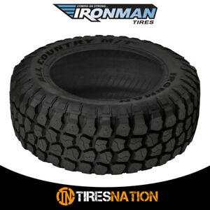 1 New Ironman All Country M T 33x12 50r15 6 108q Owl All Terrain Mud Tires