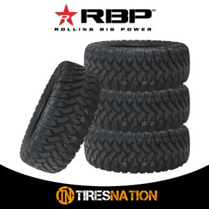 4 New Rbp Repulsor Mt 33x12 50r15lt 6pr 108q All Terrain Mud Tires Mt