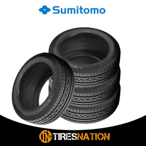 4 New Sumitomo Htr A S P02 225 50 17 94w Bw All Season High Performance Tires
