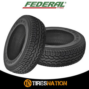 2 New Federal Couragia A T Owl 3095015 104q Owl All Terrain Performance Tires