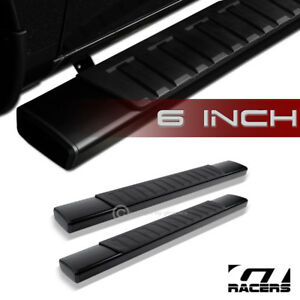 For 2009 2018 Ram Regular Cab 6 Oe Style Aluminum Blk Side Step Running Boards