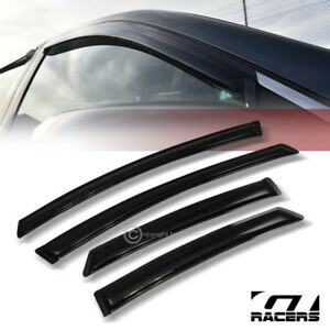Sun Wind Tint Guard Vent Shade Deflector Window Visor For 2010 2014 Toyota Prius