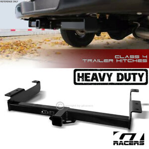 For 1996 2017 Chevy Express Class 4 Trailer Hitch Receiver Towing Heavyduty 2