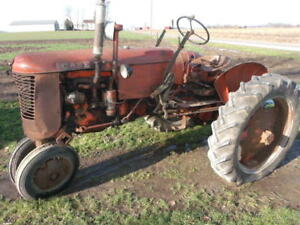 Case Vac Tractor For Repair Or Parts Runs Works 1951 Eagle Hitch
