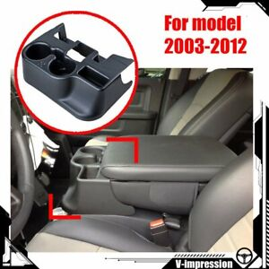 Matte Center Console Extension Cup Holder For 2003 2012 Dodge Ram 1500 2500 3500