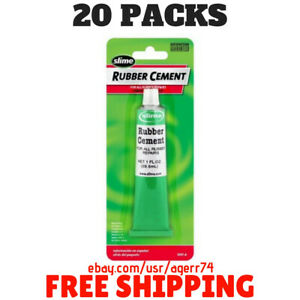 20 Packs Slime Rubber Cement 1 Oz 1051 a
